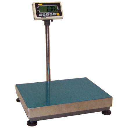 UWE ABM Series FLOOR SCALE Large and clear backlit LCD display for easy readability