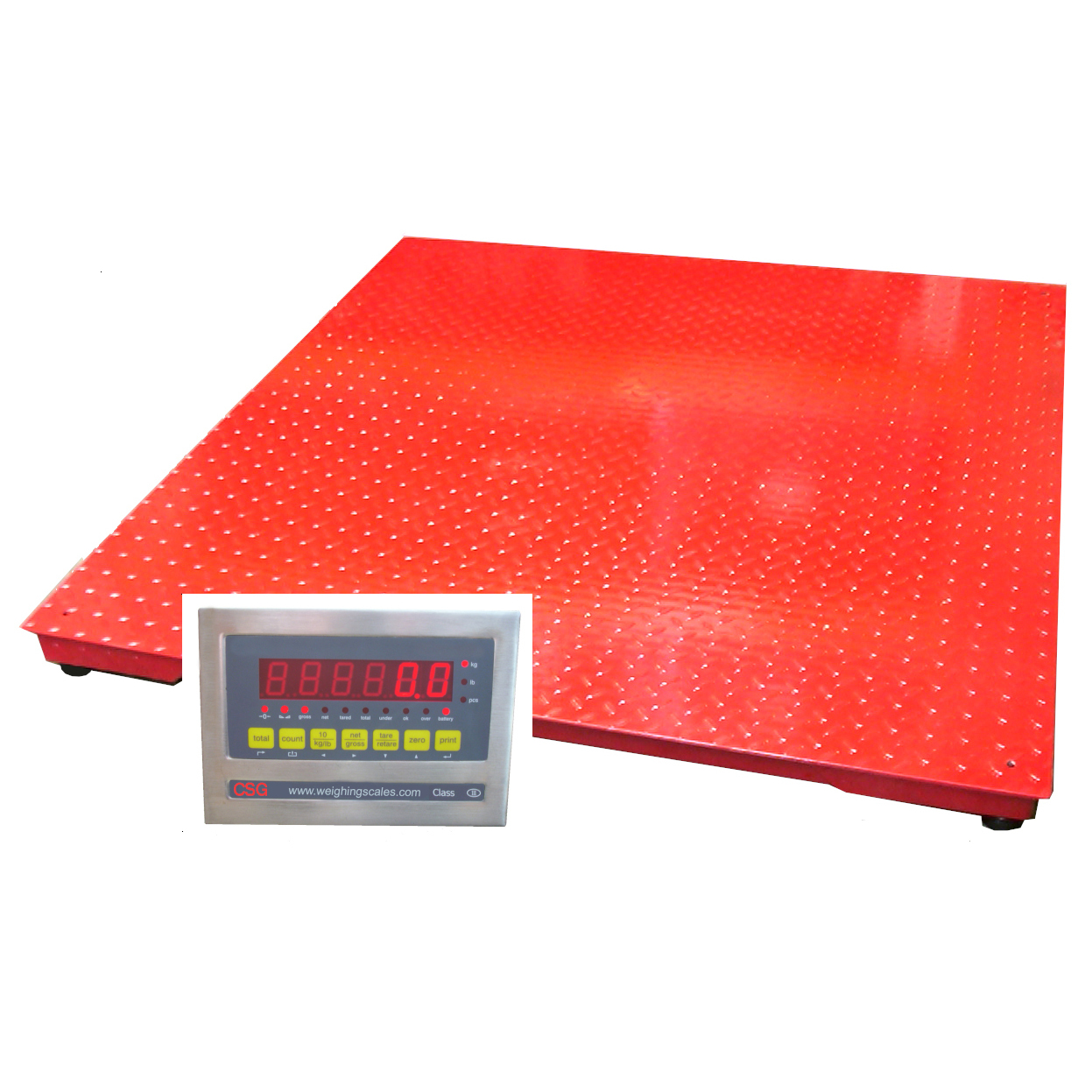 Weighing Platforms from weighingscales.com