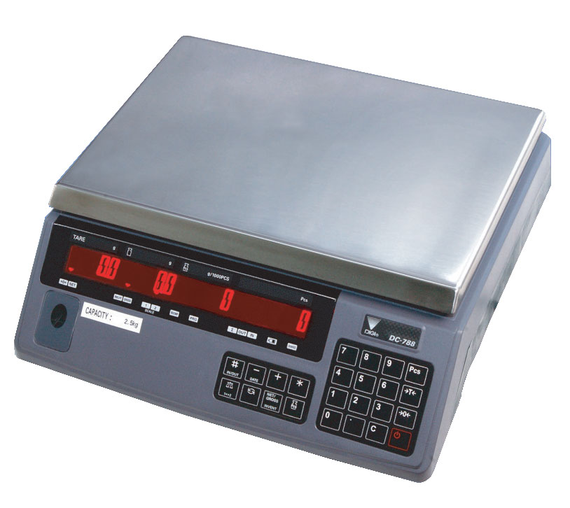 DIGI DC-788 COUNTING BENCH SCALE
