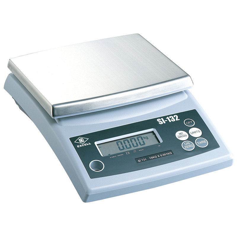 EXCELL SI-132 HIGH-RESOLUTION PORTABLE PRECISION BALANCE