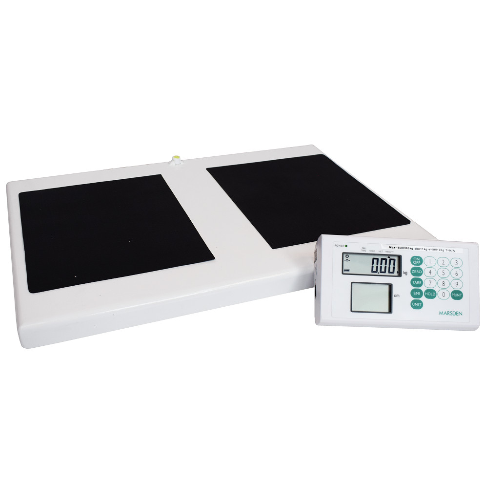 MARSDEN M-530 HIGH CAPACITY DIGITAL PORTABLE SCALE with BMI