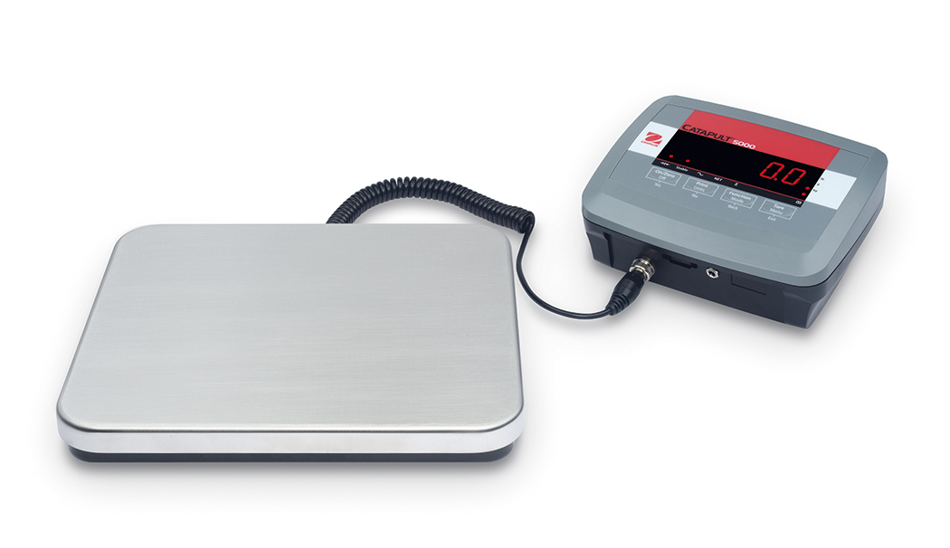 OHAUS CATAPULT 5000 HEAVY DUTY SHIPPING SCALE - REDUCED
