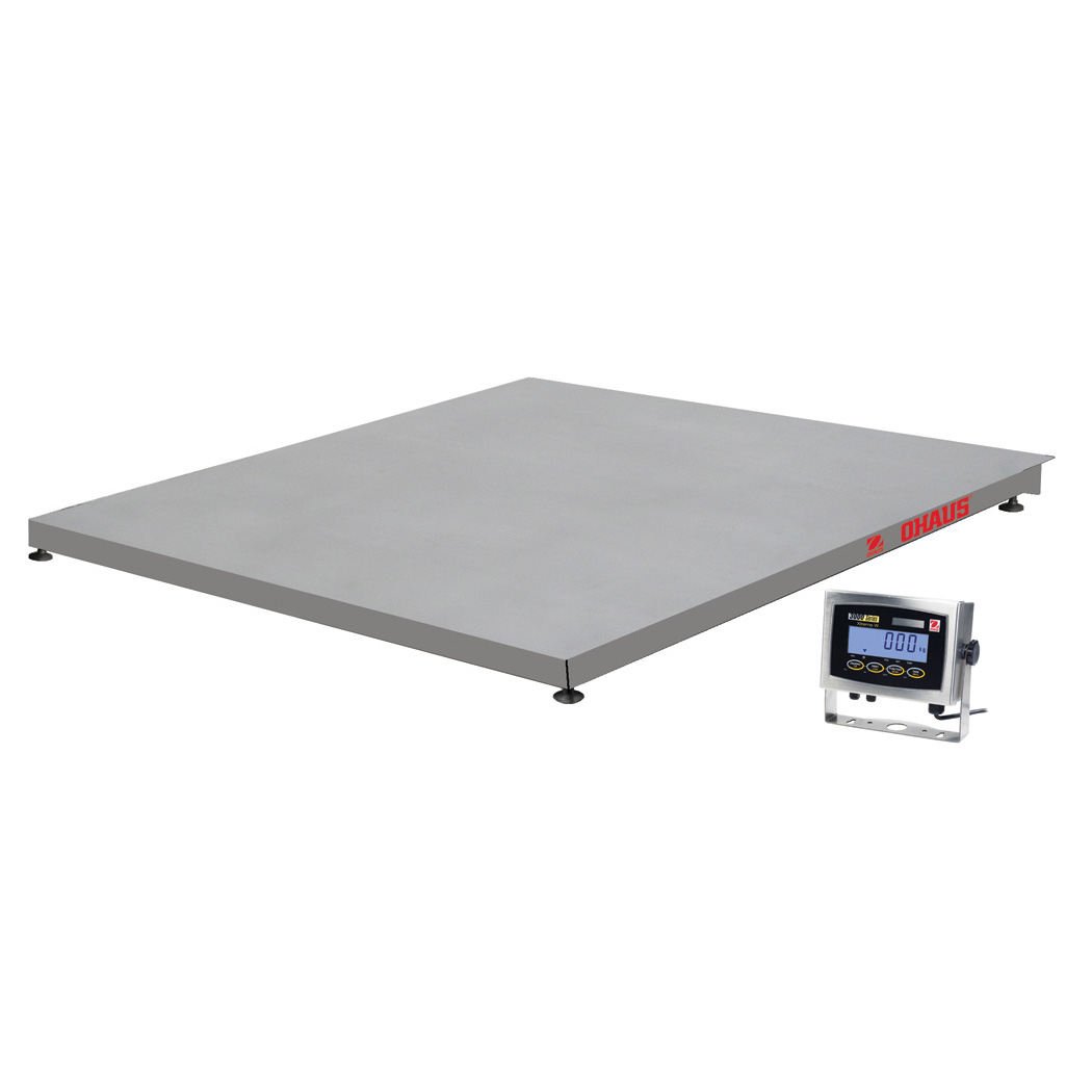 OHAUS VE SERIES STAINLESS STEEL PLATFORM SCALES