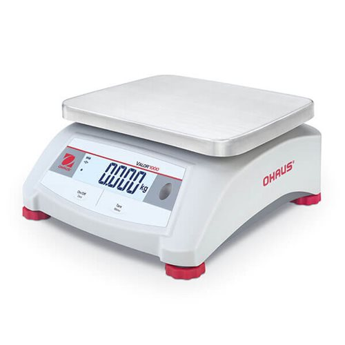 OHAUS VALOR 1000-V12P RELIABLE FOOD-SAFE SCALE