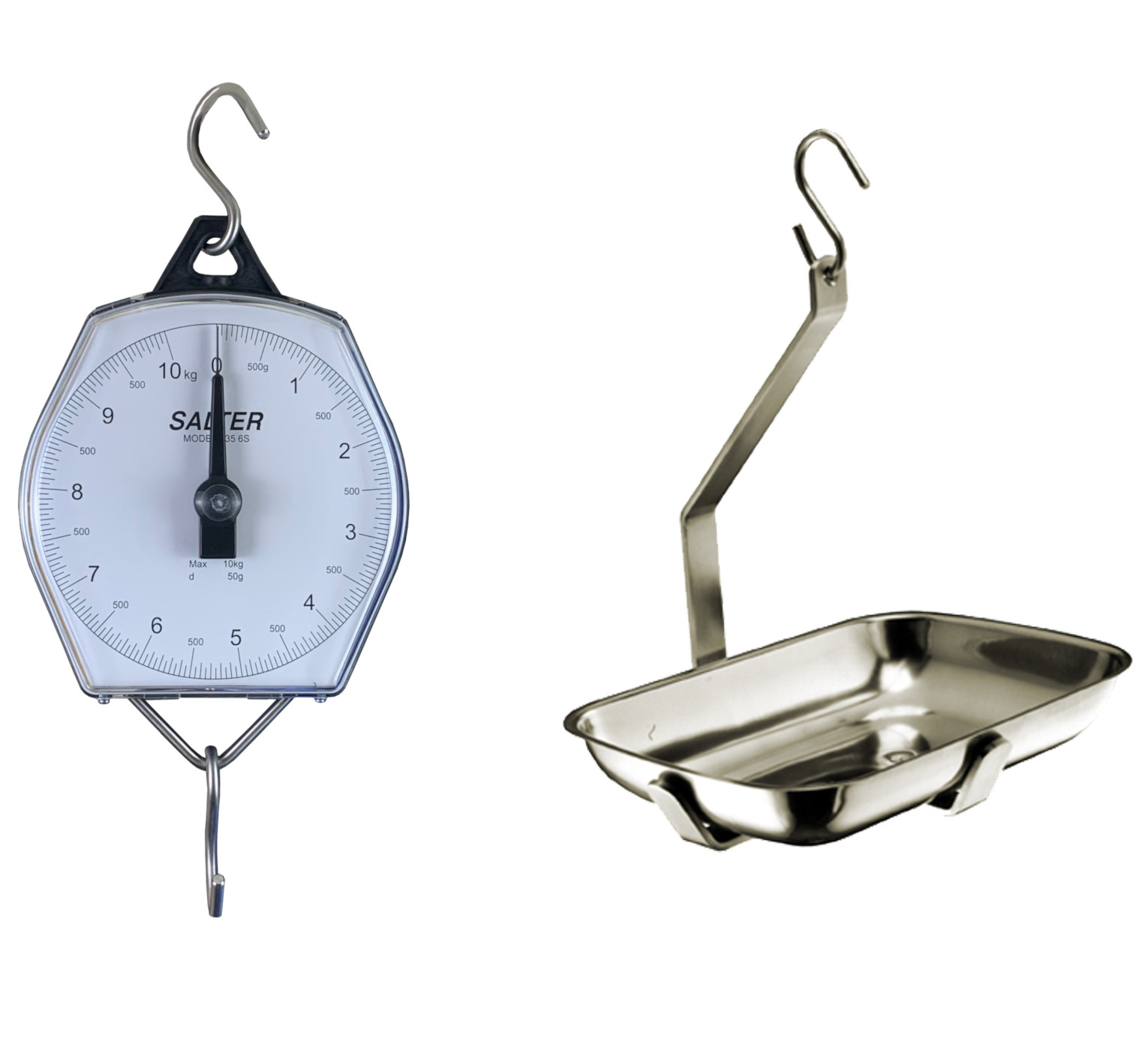 SALTER BRECKNELL 235-6s HANGING SCALE WITH OBLONG PAN