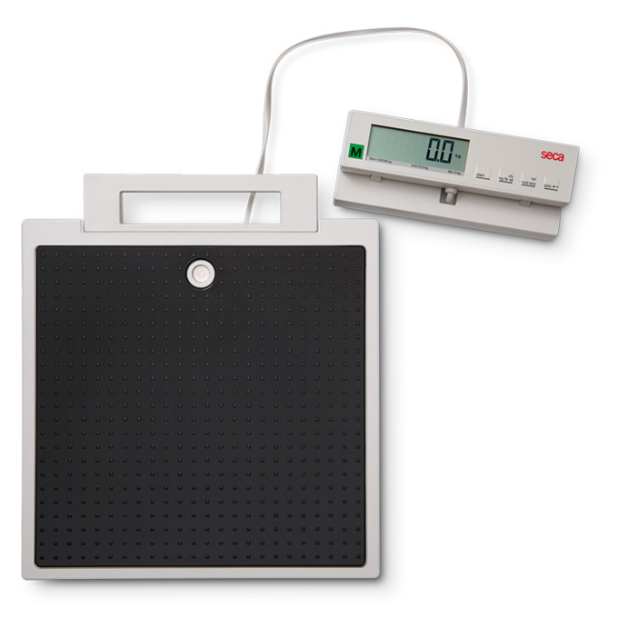 SECA 899 LIGHTWEIGHT PERSONAL SCALE with REMOTE DISPLAY