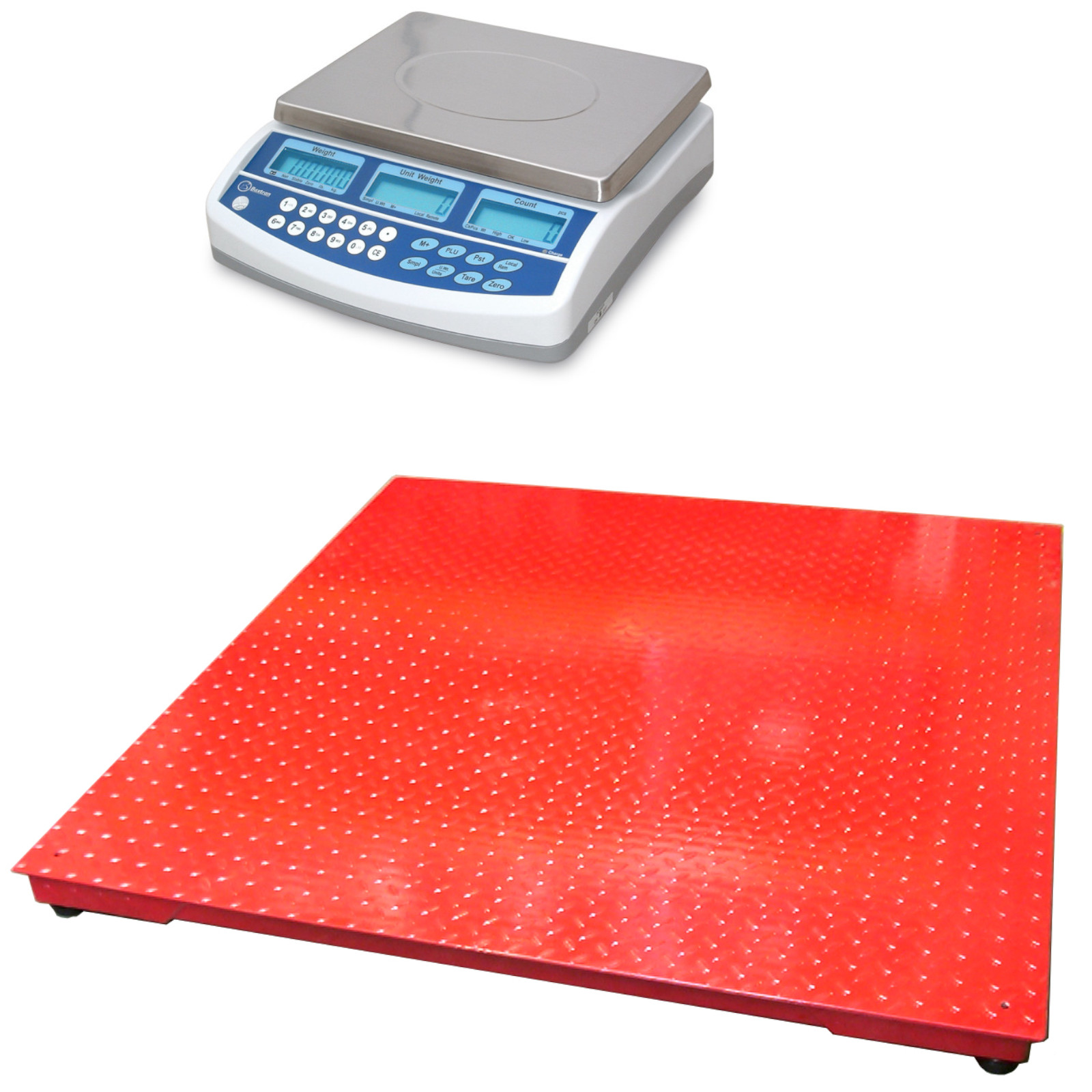 CSG BCD DUAL SCALE REMOTE PLATFORM COUNTING SYSTEM | weighingscales.com