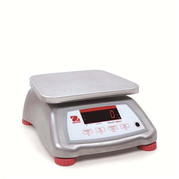 OHAUS VALOR 4000 ALL STAINLESS STEEL | weighingscales.com
